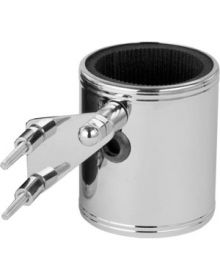Kruzer Kaddy Kustom Kaddy Handblebar Drink Holder Chrome
