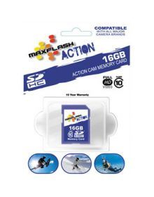 MaxFlash Action SD Memory Card 16GB