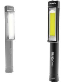 Nebo LED Big Larry Flashlight Black or Grey