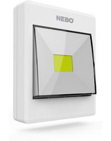 Nebo LED Contemporary Flipit Flashlight 2-Pack White