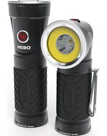 Nebo LED Cryket Flashlight Smoke Gray