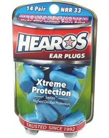 Hearos Extreme Protection Ear Plugs 14 Pairs