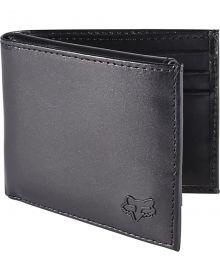 Fox Racing Bifold Leather Wallet Black