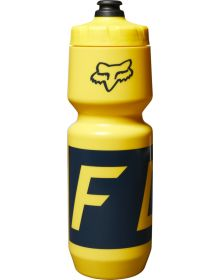 Fox Racing Purist Moth Water Bottle Yellow/Blue