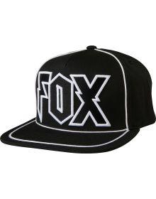 Fox Racing Faction Snapback Hat Black
