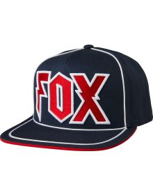 Fox Racing Faction Snapback Hat Midnight