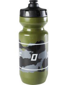 Fox Racing Moth 22oz Purist Water Bottle Green Camo