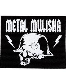 Metal Mulisha Black Canvas Patch Black