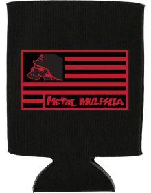 Metal Mulisha Flagged Coozie Black