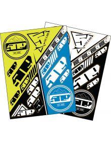 509 Sticker Sheets Hi-Vis & Blue
