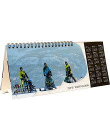 509 Snowmobile Desktop Calendar 2018/19
