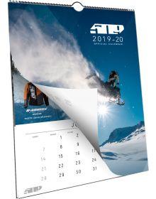 509 2020 18-Month Wall Calendar