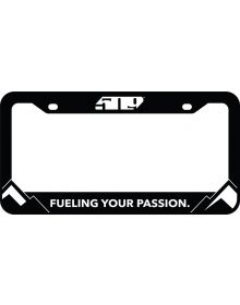 509 License Plate Cover - Black
