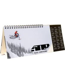 509 18-Month Snow Desktop Calendar - 2021/2022