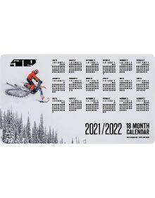 509 18-Month Snow Magnet Calendar - 2021/2022