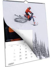 509 18-Month Snow Wall Calendar - 2021/2022