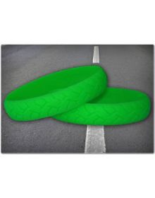 Ride On Road Rash Wristband Green