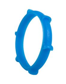 Ride-On Rubber Wristband Paddle Tire Glow In the Dark Blue