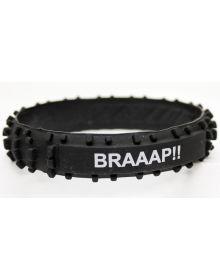 Moto365 Rubber Wristband Knobby Tire Braaap