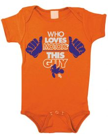 Smooth Industries Youth Rompers This Guy Orange 12-18