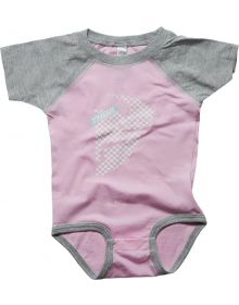 Thor Headchecked Romper Pink