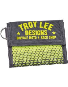 Troy Lee Designs Starburst Wallet Gray/Yellow