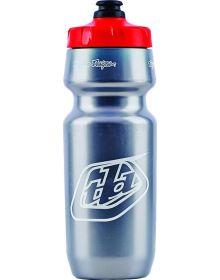 Troy Lee Designs Logo Water Bottle 24oz Silver