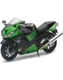 New Ray Toys Kawasaki Zx14R 1:12 Replica Bike Green