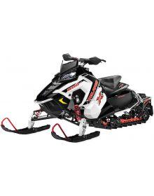 New Ray Polaris Switchback Snowmobile Toy Replica White
