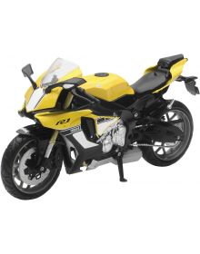New Ray Toys Yamaha YZR-R1 2016 Bike Replica Yello