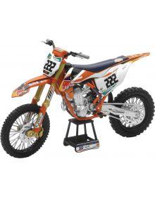 New Ray Toys KTM Tony Cairoli Red Bull Replica Bike 1:10 Scale Toy