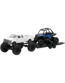 New Ray RZR XP1000 W/White Truck 1:18 Scale Toy Replica