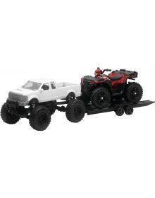 New Ray Sportsman W/Truck 1:18 Scale Toy Replica