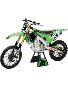 New Ray Toys Kawasaki Tomac Replica Bike 1:6