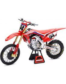New Ray Toys Honda HRC Ken Roczen Replica Bike 1:6