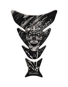 Keiti Tank Pad Skeleton Black