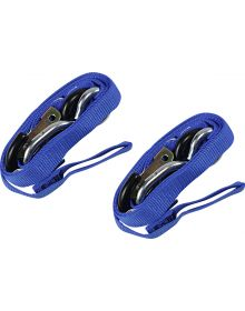 Ancra Lite 1in Tie-Downs Blue Pair