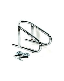 BCS Removable Wheel Chock Chrome 5.5 Inch