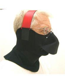 No-Fog Extreme Gaitor Snow Face Mask Black