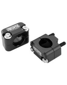 Pro-Taper Handlebar Mount Universal 1-1/8In Bars - Solid Mount Black