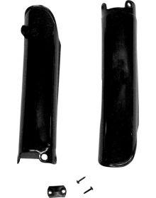 UFO Fork Guard Black - CRF450 2009