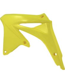 Acerbis Radiator Shrouds RMZ450 2008-2012 Yellow