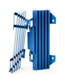 Panik Rev Racing Radiator Guards Blue YZF250/YZF450 06-08