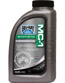 Bel-Ray MC-1 Racing Full Synthetic 2T Engine Oil 355ml / 12oz