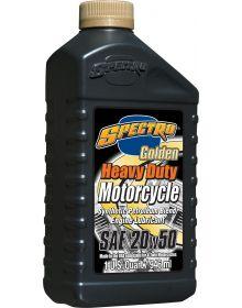 Spectro Golden 4 Heavy Duty Motorcycle Engine Oil 20w50 Semi-Synthetic Blend