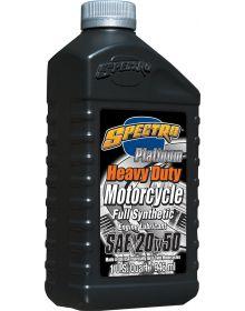 Spectro Platinum Heavy Duty V-Twin Full Synthetic Oil 20W50 1 Quart
