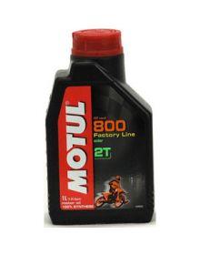 Motul 800 2-T Pro Racing Premix Oil 1 Liter