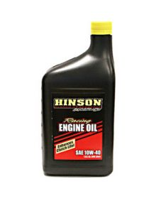 Hinson Racing Engine Oil 10W40 1 Quart