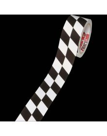Checkered Duct Tape Black/White