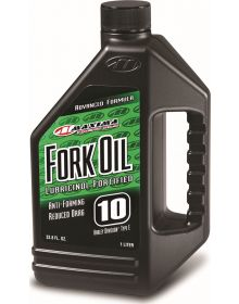 Maxima Fork Oil 10 WT- 16 Ounce Bottle